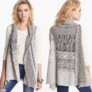 Free People In Your Arms Wool Blend Cardigan Small